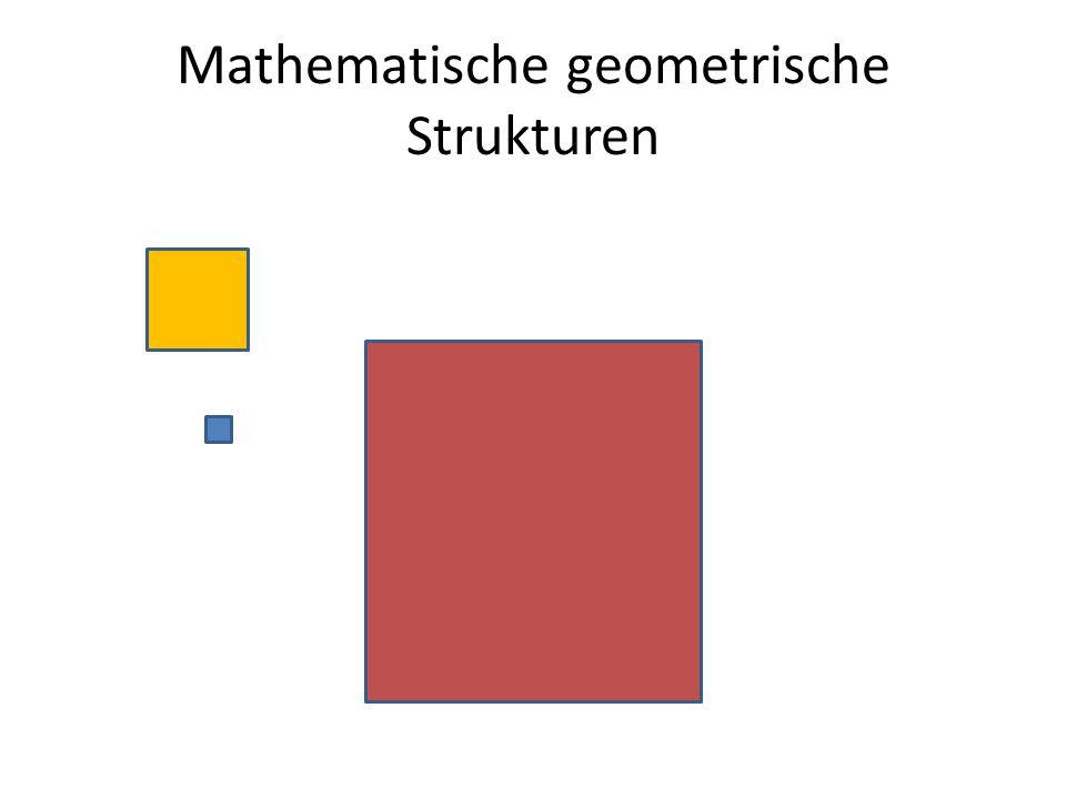 Mathematische geometrische Strukturen