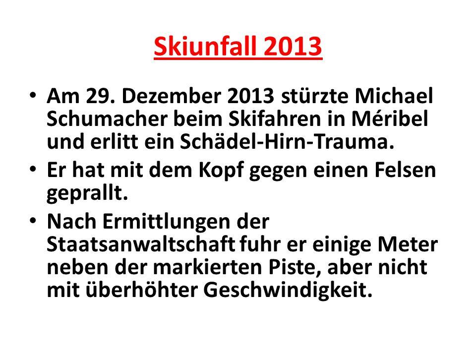 Skiunfall 2013 Am 29.