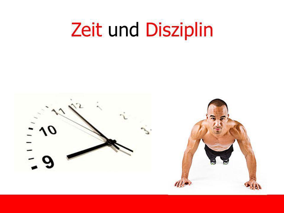 14 Zeit und Disziplin