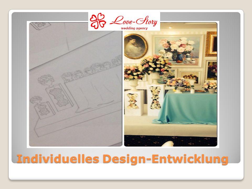 Individuelles Design-Entwicklung