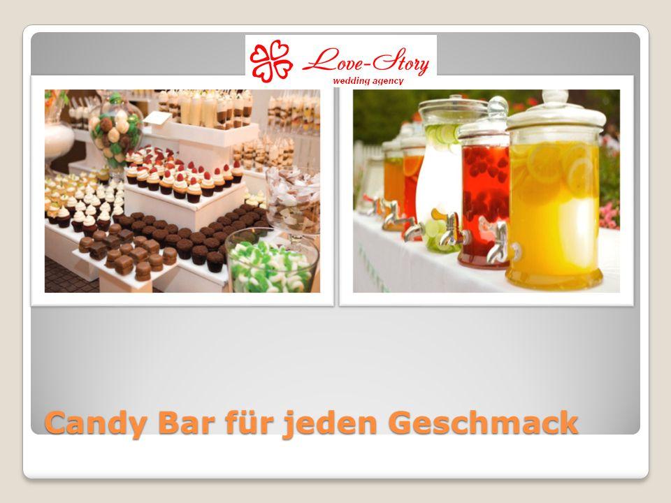 Candy Bar für jeden Geschmack