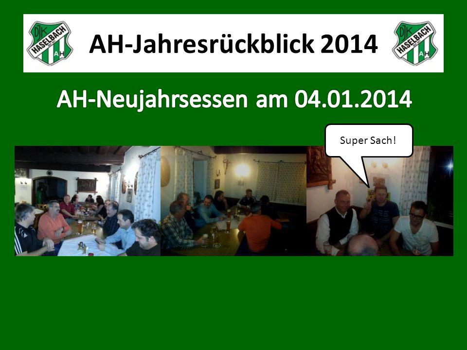 AH-Jahresrückblick 2014 Super Sach!