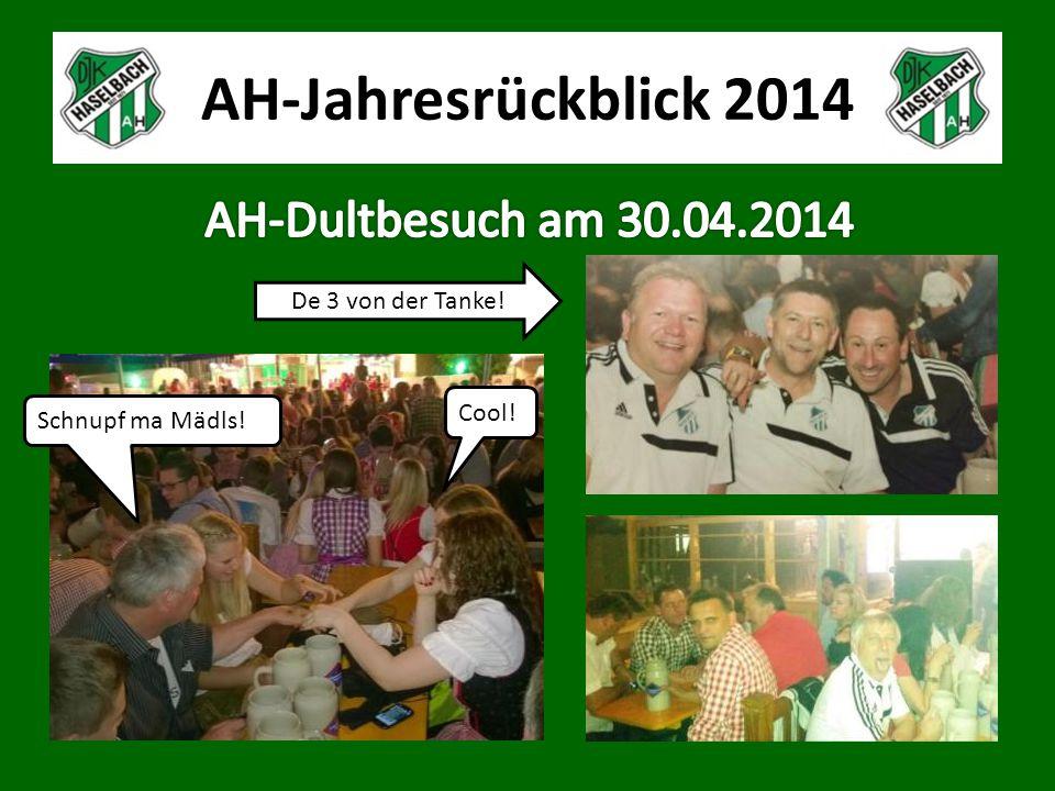 AH-Jahresrückblick 2014 Schnupf ma Mädls! Cool! De 3 von der Tanke!