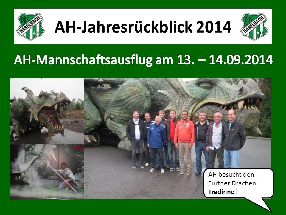AH-Jahresrückblick 2014 AH besucht den Further Drachen Tradinno!
