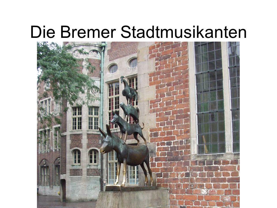 Die Katze sagte, Das ist eine gute Idee. Ich spiele Flöte. Ich gehe auch nach Bremen.