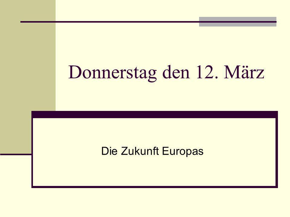 Europa Quiz.1. Was bedeutet die Abkürzung EU. 2. Wie viele europäische Länder kannst du nennen.