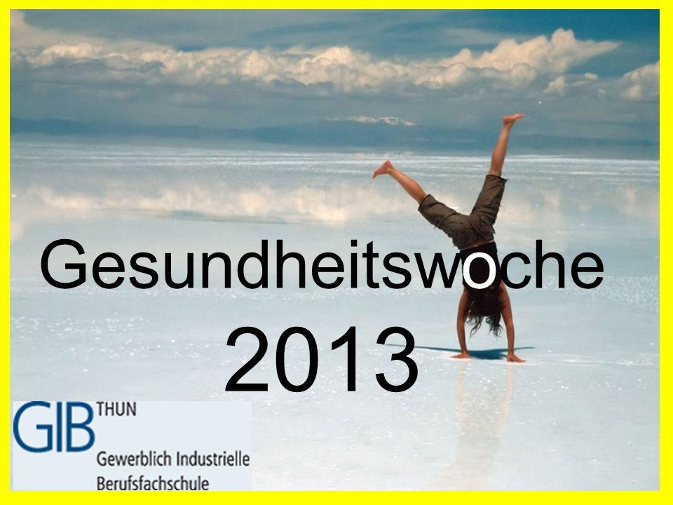 Gesundheitswoche 2013