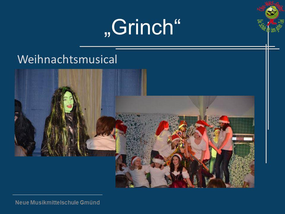 """Neue Musikmittelschule Gmünd """"Grinch"""" Weihnachtsmusical"""