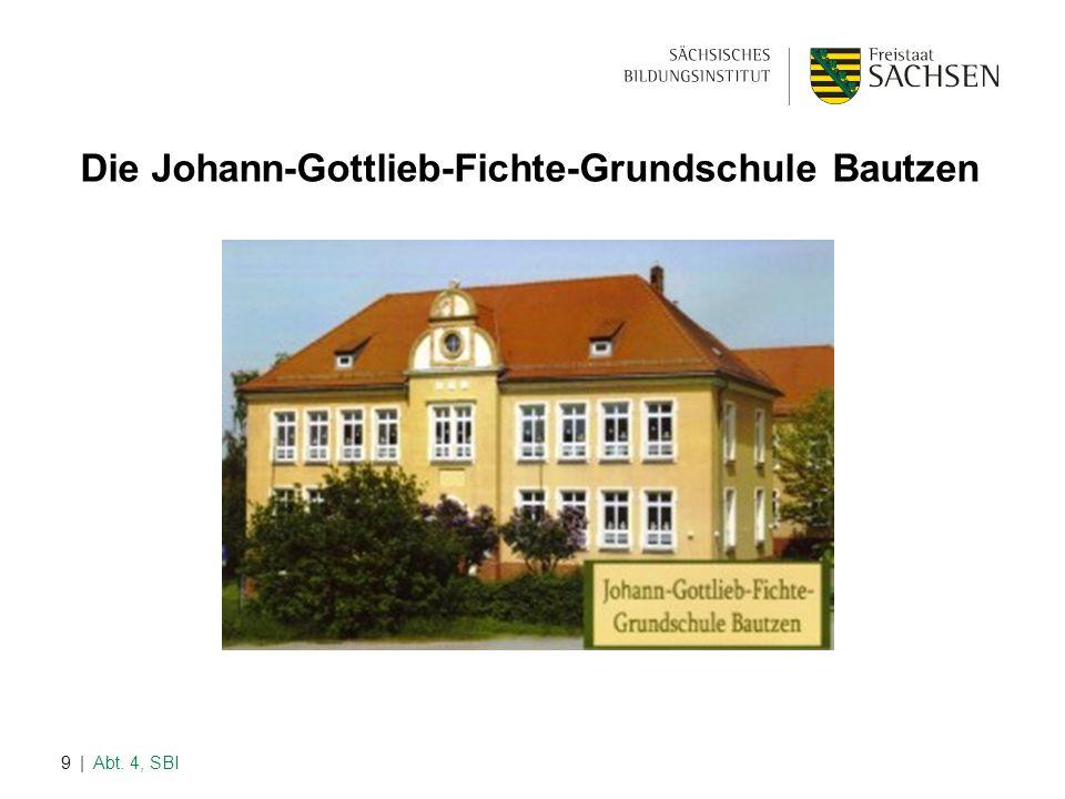 | Abt. 4, SBI9 Die Johann-Gottlieb-Fichte-Grundschule Bautzen