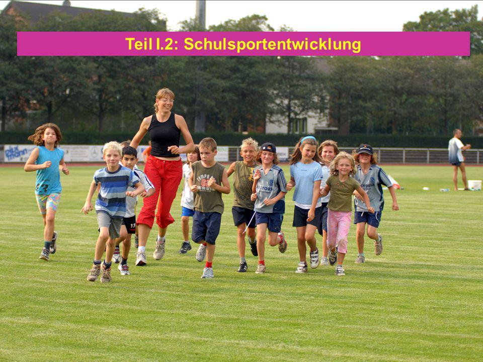 04. Mai 201010 Teil I.2: Schulsportentwicklung
