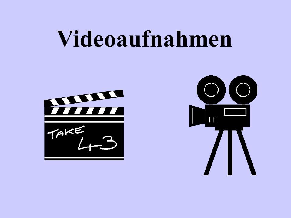 14. Stunde Videoaufzeichnung eines Telefonats Videoaufzeichnung eines Vorstellungsgespräches