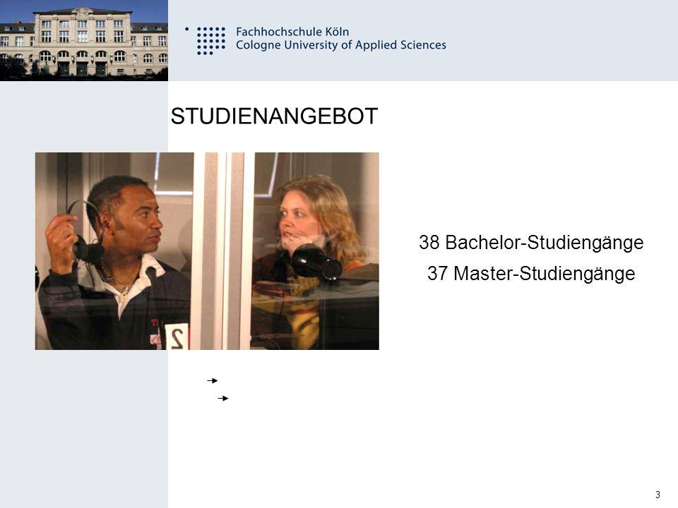 24 Fachhochschule Köln University of Applied Sciences Cologne 11.12.2014 Ingenieurwissenschaften (Campus GM) / Allg.