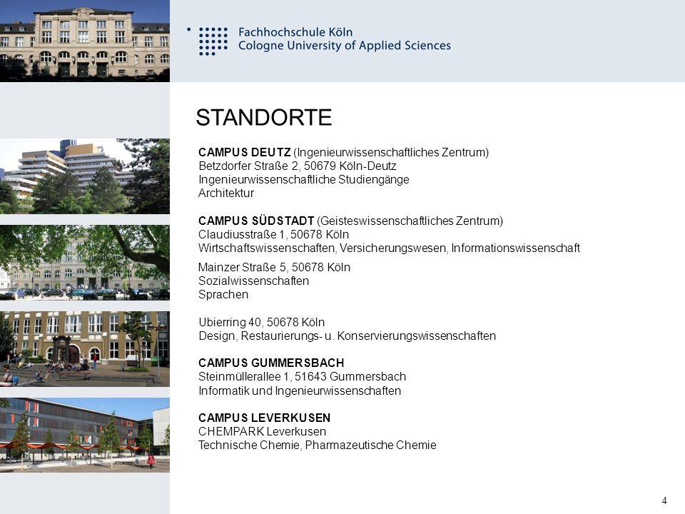 25 Fachhochschule Köln University of Applied Sciences Cologne 11.12.2014 Semesterbeitrag 221,15 Euro (Inklusive NRW Ticket) Was kostet das Semester???
