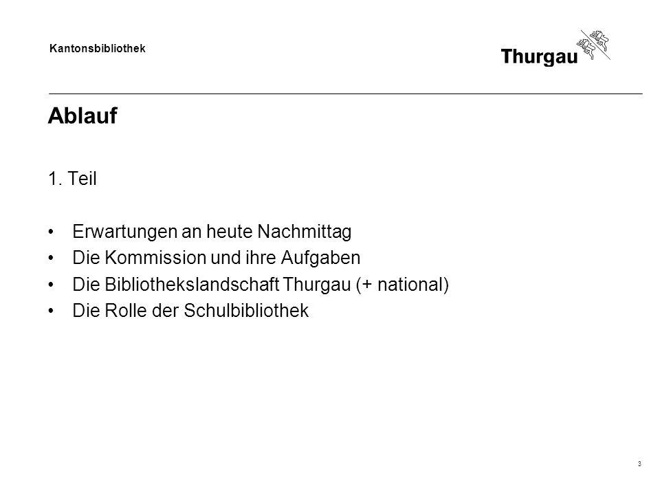 Kantonsbibliothek Ablauf 1.