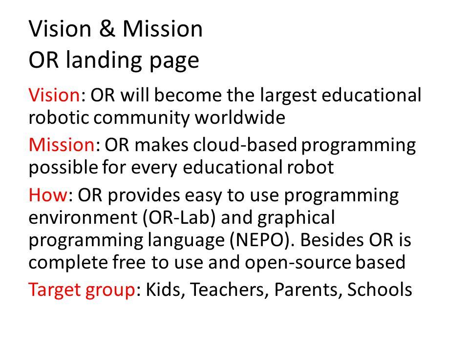 Open Roberta Lab 3 Open Roberta goes open-source Open Roberta (OR) wird komplett wird open-source sein – der Name ist also Programm.