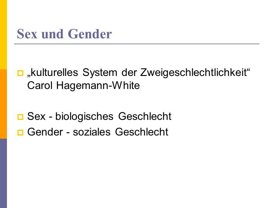 """Geschlechtsbezogene Sozialisation  Bilder – wie wir sein sollten…  """"Wir werden nicht als Mädchen oder als Knaben geboren... Vermittlung geschlechtsspezifischen Verhaltens Fünf Ebenen Und…"""