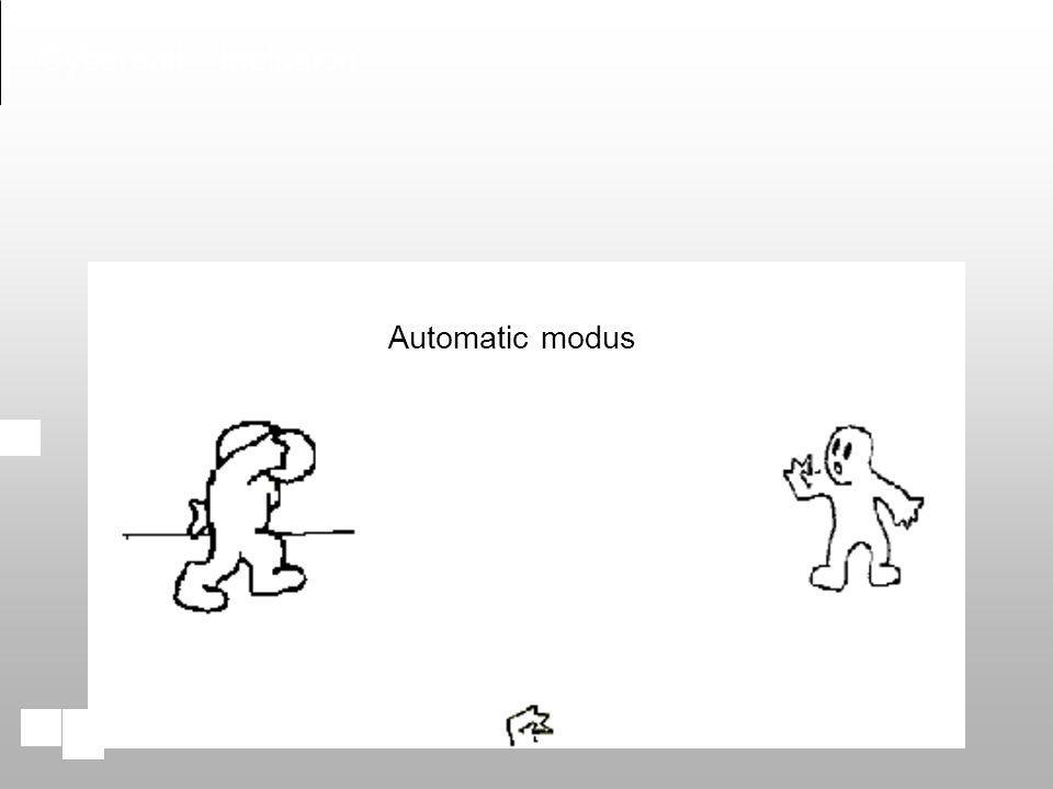 Automatic modus