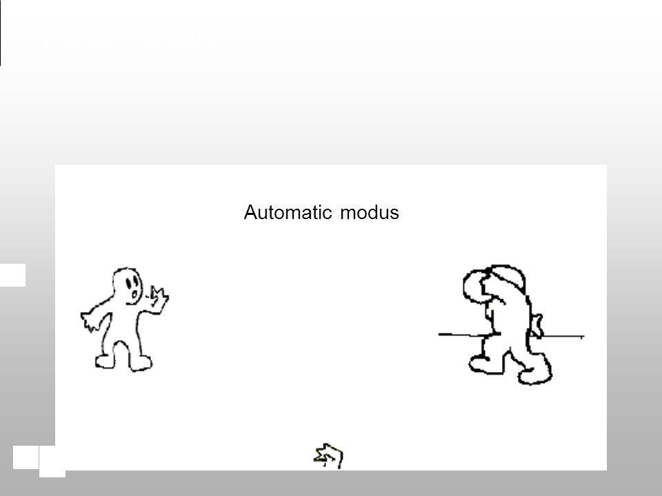 Cyberball - Inclusion Automatic modus