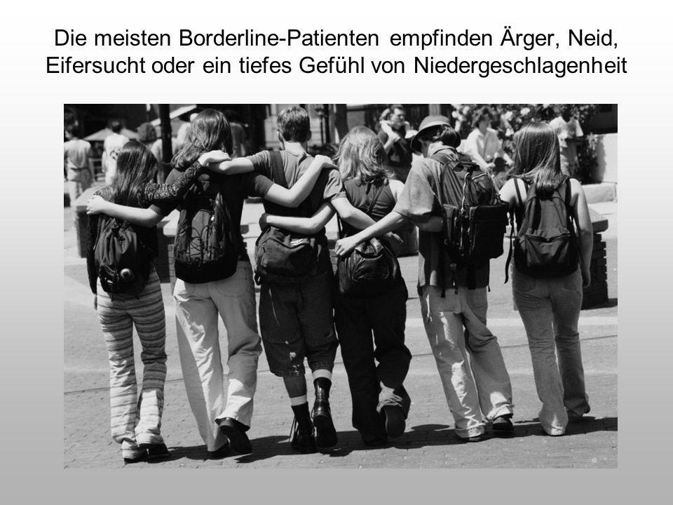 Borderline-Störung: Epidemiologie Lebenszeit- Prävalenz: ca 3% (Trull et al.