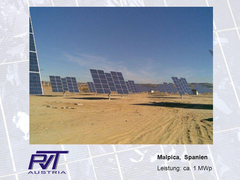 Malpica, Spanien Leistung: ca. 1 MWp