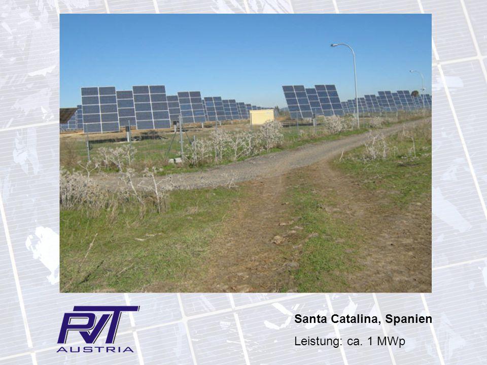 Santa Catalina, Spanien Leistung: ca. 1 MWp