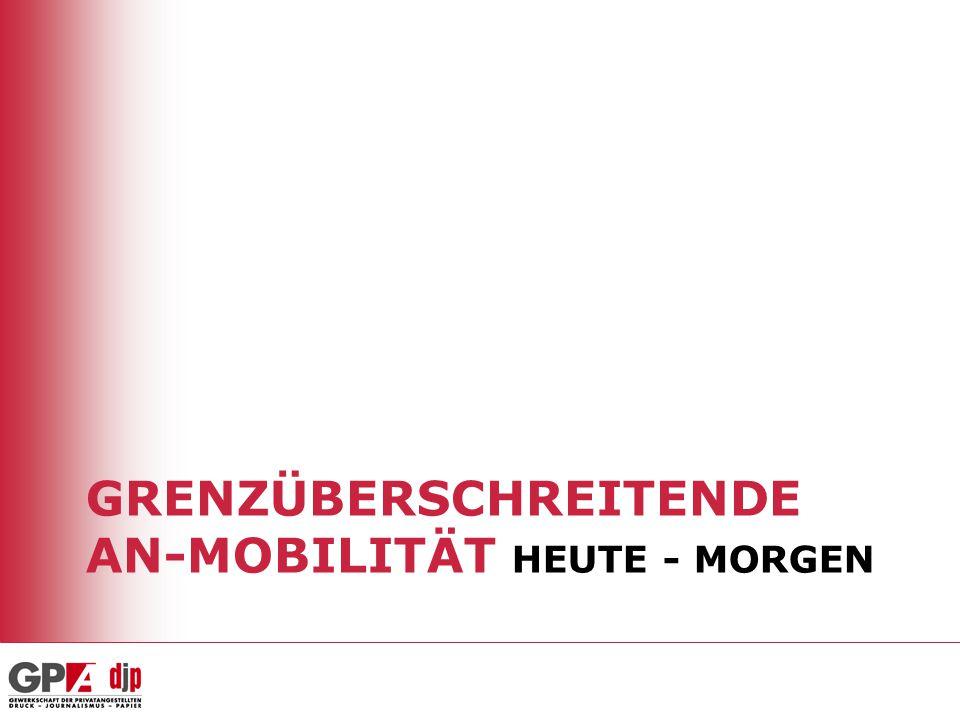 Der österreichische Arbeitsmarkt ist gut vorbereitet Zusätzlicher Druck bereits während der Übergangsfristen weitgehend abgefangen durch –Gemeinschaftspräferenz: Vorrang von neuen EU-Bürgern vor Drittstaatsangehörigen (v.a.
