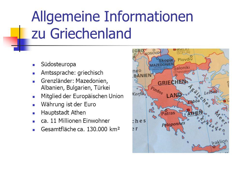 Informationen zu Thessaloniki Fläche von ca.20 km² Mit ca.