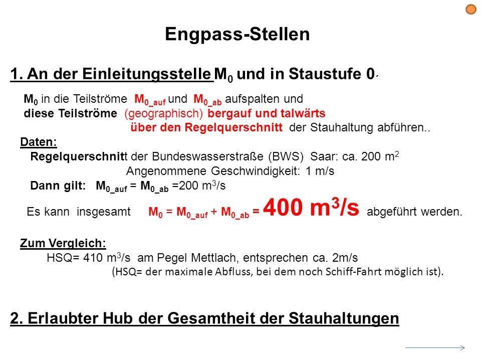 Engpass-Stellen 1.