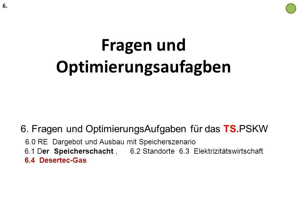 Fragen und Optimierungsaufagben 6. 6. Fragen und OptimierungsAufgaben für das TS.PSKW 6.0 RE Dargebot und Ausbau mit Speicherszenario 6.1 Der Speicher