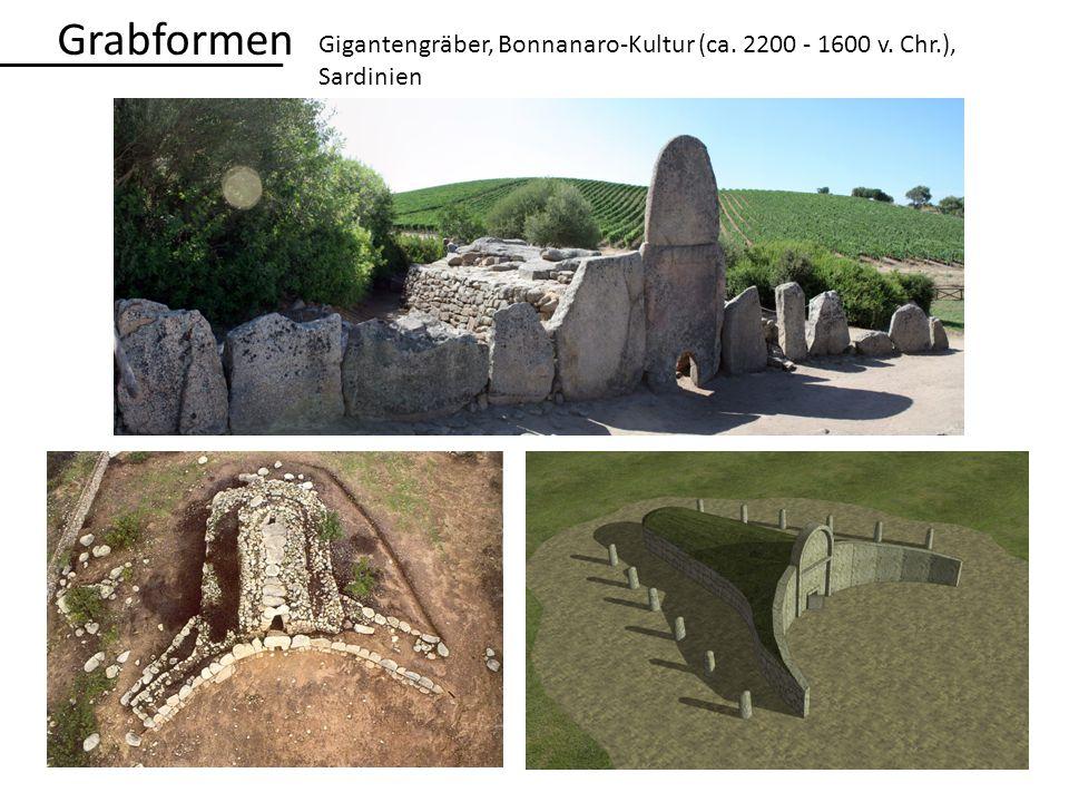 Grabformen Gigantengräber, Bonnanaro-Kultur (ca. 2200 - 1600 v. Chr.), Sardinien