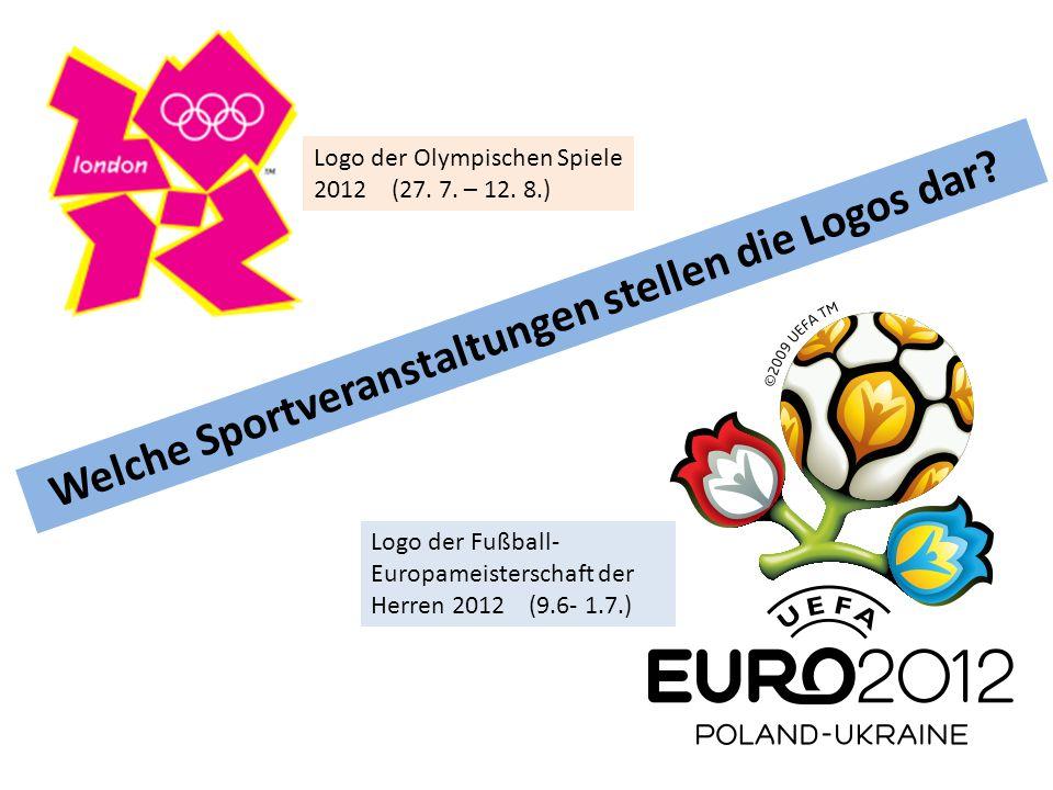 Welche Sportveranstaltungen stellen die Logos dar.