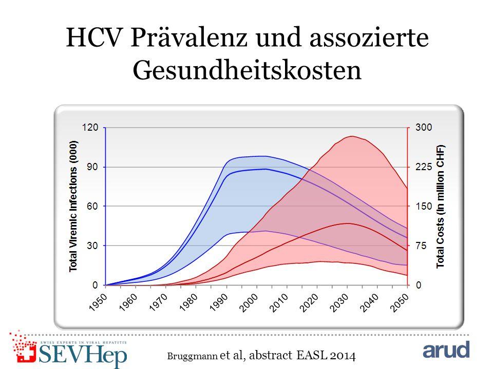 HCV Prävalenz und assozierte Gesundheitskosten Bruggmann et al, abstract EASL 2014
