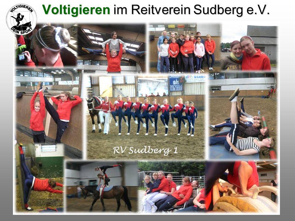 Voltigieren im Reitverein Sudberg e.V. Voltigieren im Reitverein Sudberg e.V.