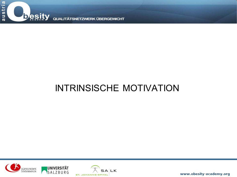 www.obesity-academy.org INTRINSISCHE MOTIVATION