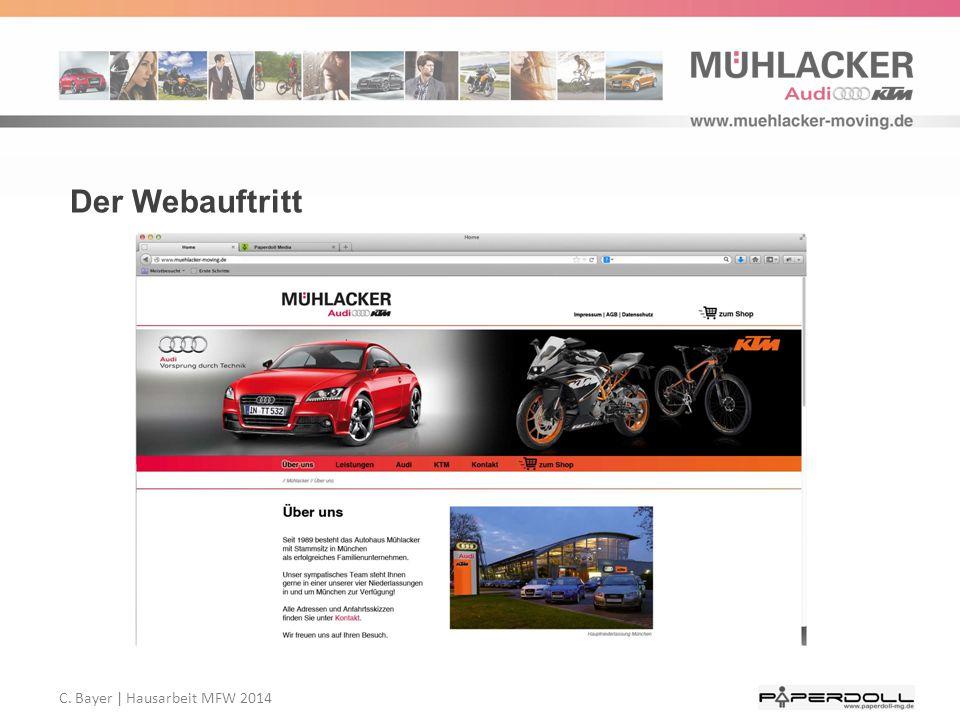 C. Bayer   Hausarbeit MFW 2014 Der Webauftritt
