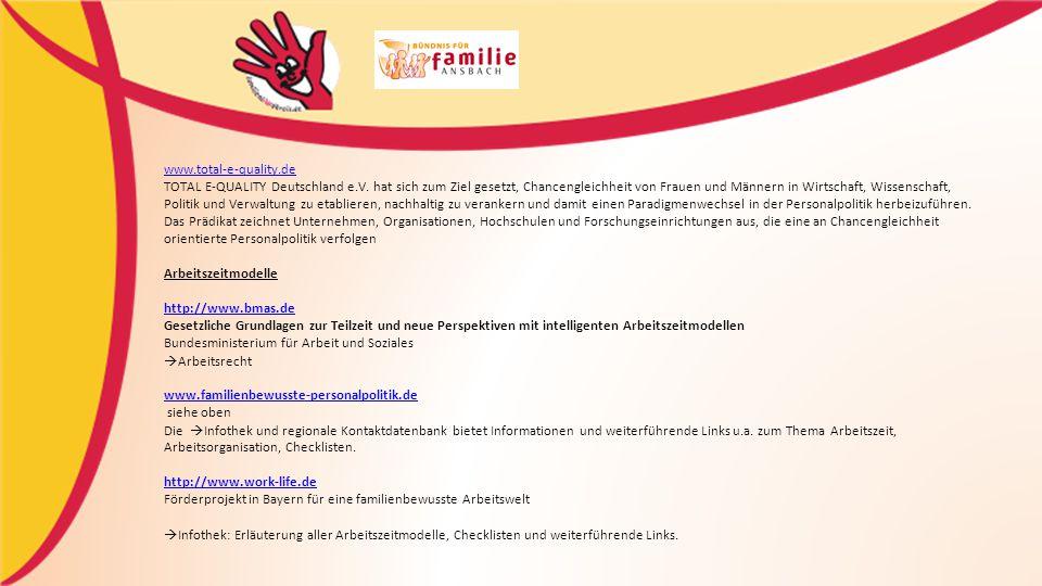 www.total-e-quality.de TOTAL E-QUALITY Deutschland e.V.