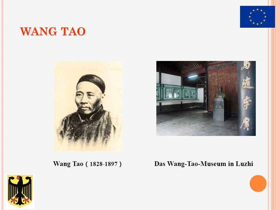 WANG TAO Wang Tao ( 1828-1897 ) Das Wang-Tao-Museum in Luzhi