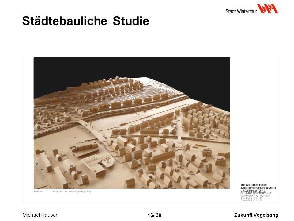 Zukunft Vogelsang 16/ 38 Städtebauliche Studie Michael Hauser
