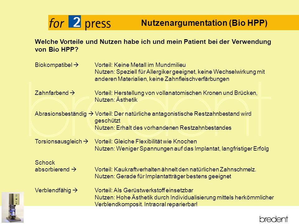 Titelmasterformat durch Klicken bearbeiten Textmasterformate durch Klicken bearbeiten Zweite Ebene Dritte Ebene Vierte Ebene Fünfte Ebene Welche Vorteile und Nutzen habe ich und mein Patient bei der Verwendung von Bio HPP.