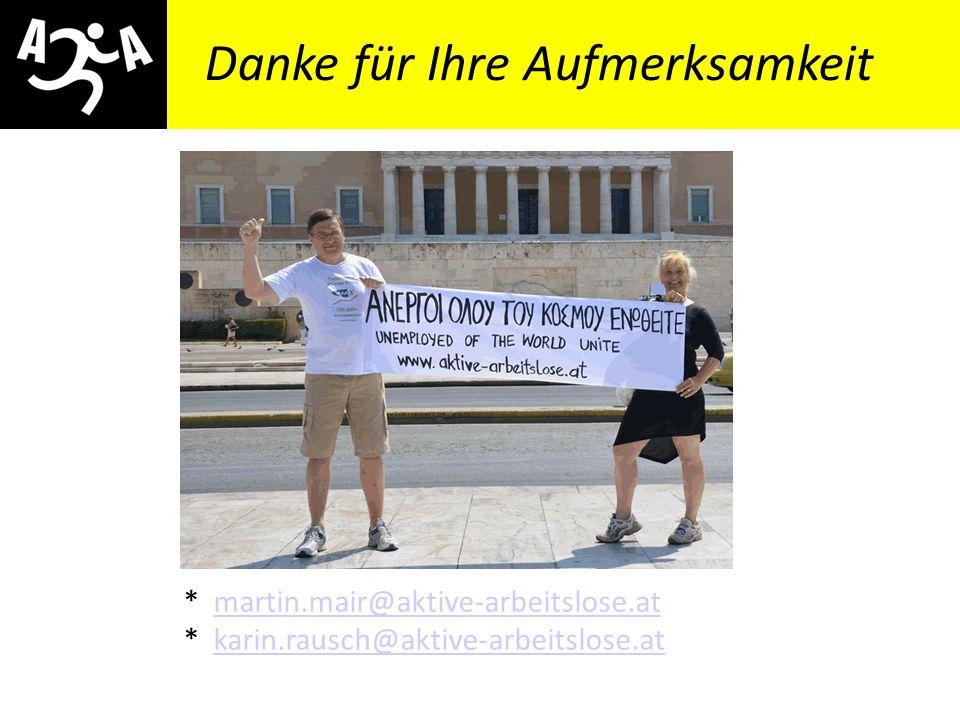 momentum14: Martin Mair – Das neoliberale Aktivierungs- und Arbeitszwangregime Danke für Ihre Aufmerksamkeit * martin.mair@aktive-arbeitslose.atmartin.mair@aktive-arbeitslose.at * karin.rausch@aktive-arbeitslose.atkarin.rausch@aktive-arbeitslose.at
