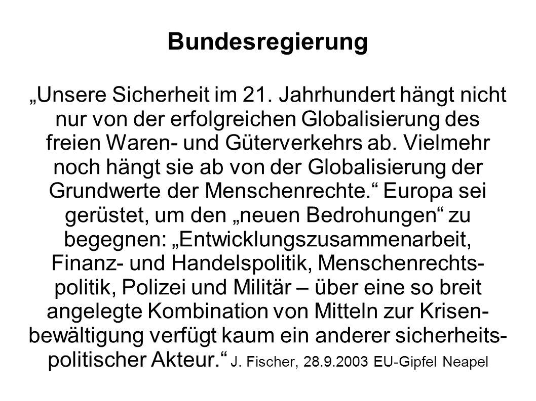BMZ CDU/FDP Wesentliche Elemente schwarz-gelber Entwicklungspolitik waren die Rückwendung von budgetorientierten Finanzierungsansätzen zurück zur klassischen Projekt- und Programmfinanzierung und von der multilateralen Zusammenarbeit zurück zur bilateralen EZ.