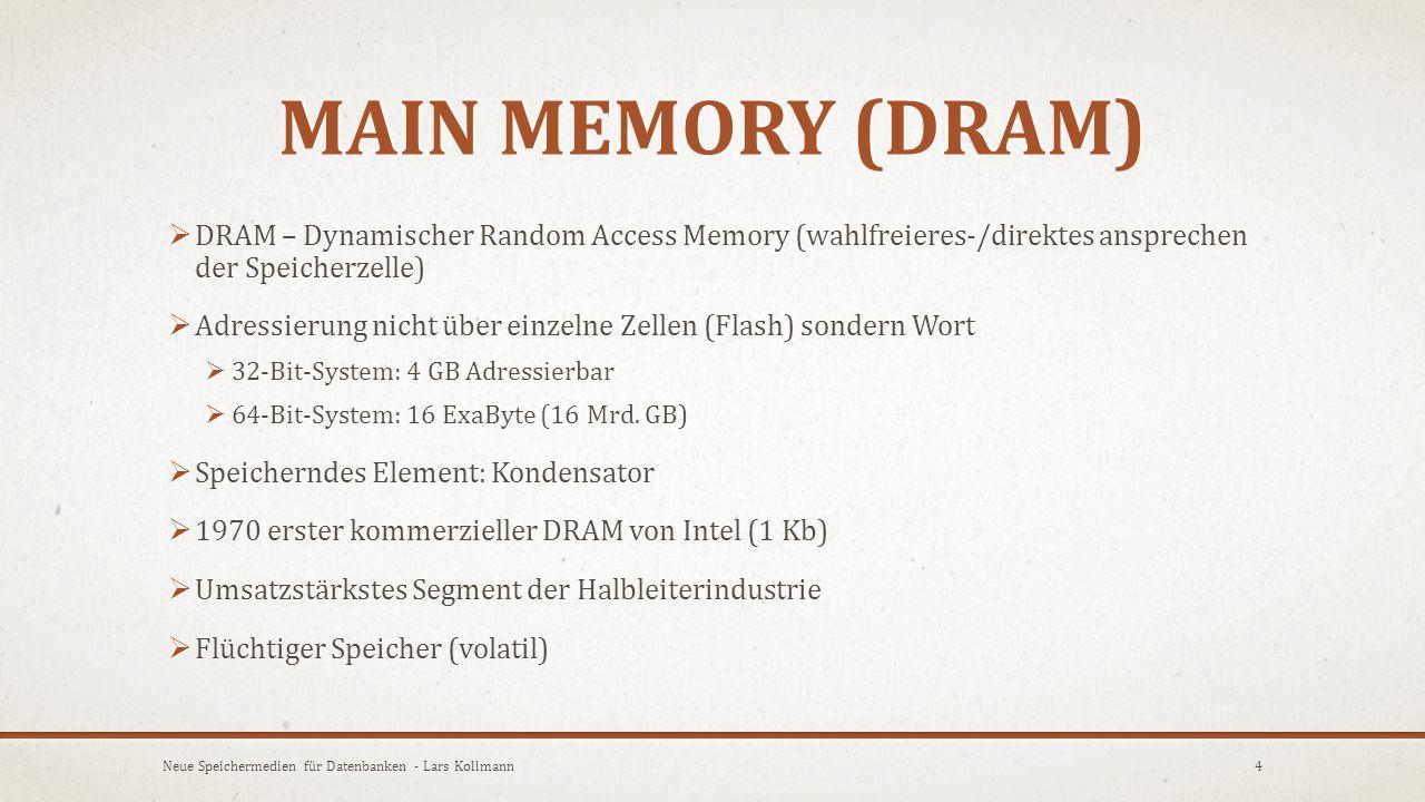FLASH MEMORY (SSD) VS.