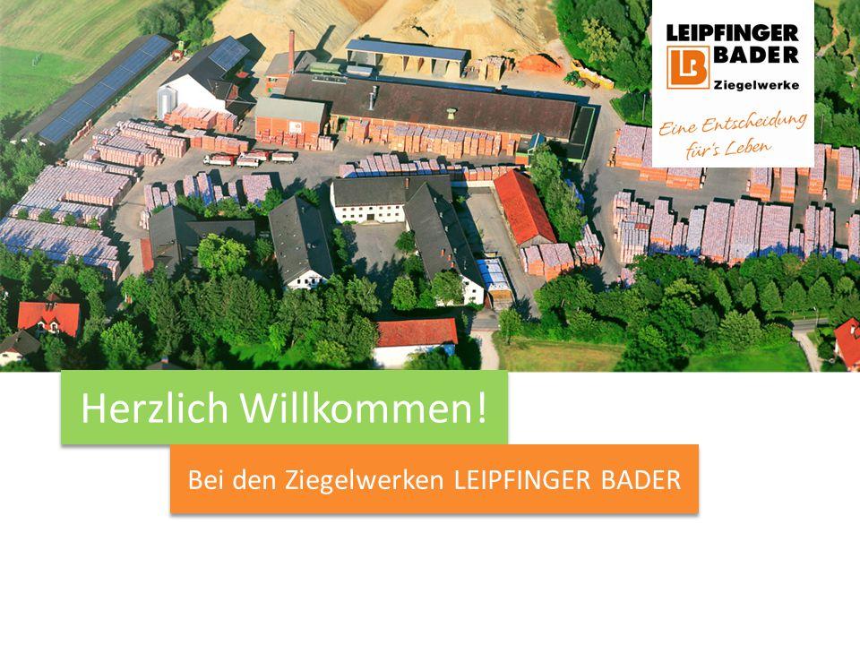 Verantwortungsvolles Wachstum seit über 100 Jahren Verantwortung + LEIPFINGER BADER zählt zu den traditionsreichsten unabhängigen Familienunternehmen der deutschen Baustoffindustrie.
