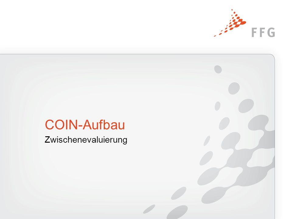 Zwischenevaluierung COIN-Aufbau