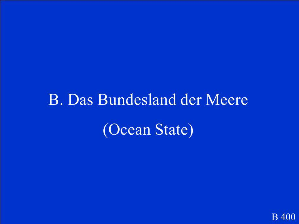 Was ist der Kosename von Schleswig-Holstein.