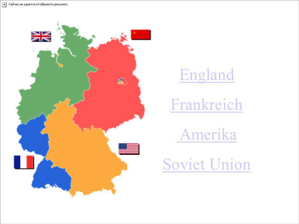 Welche Allierten besetzten Berlin 1946 und formten 4 Sektoren E 500