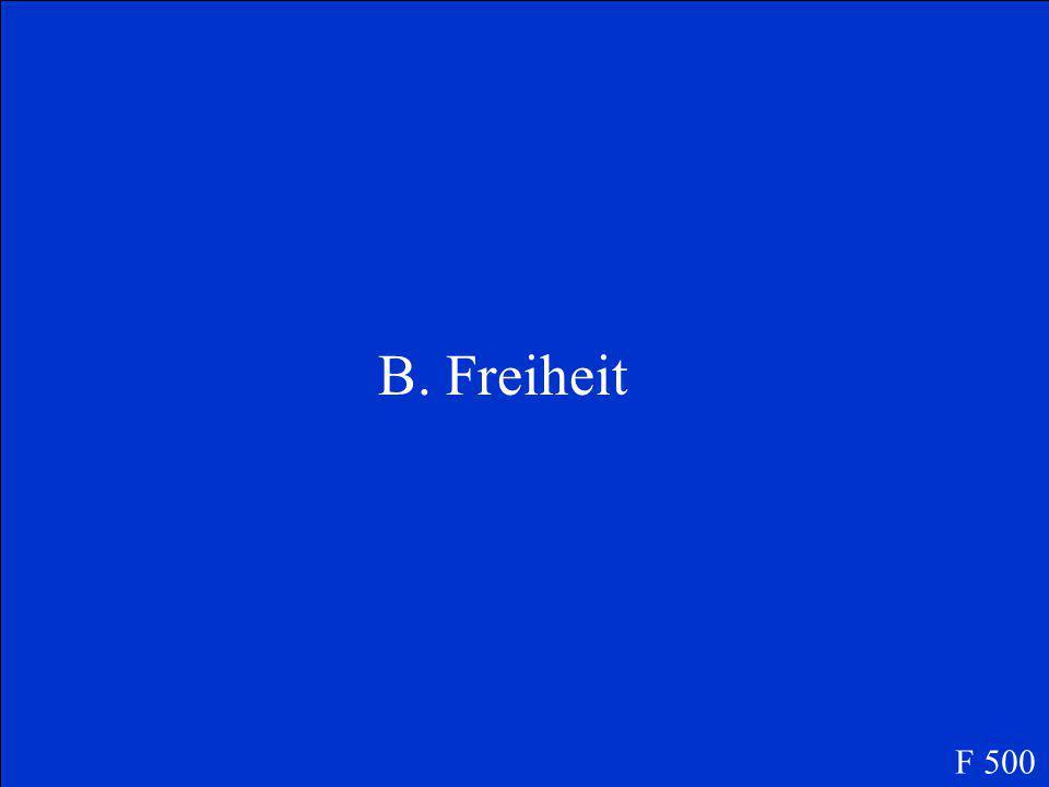 Das Brandenburger Tor ist ein Symbol für....