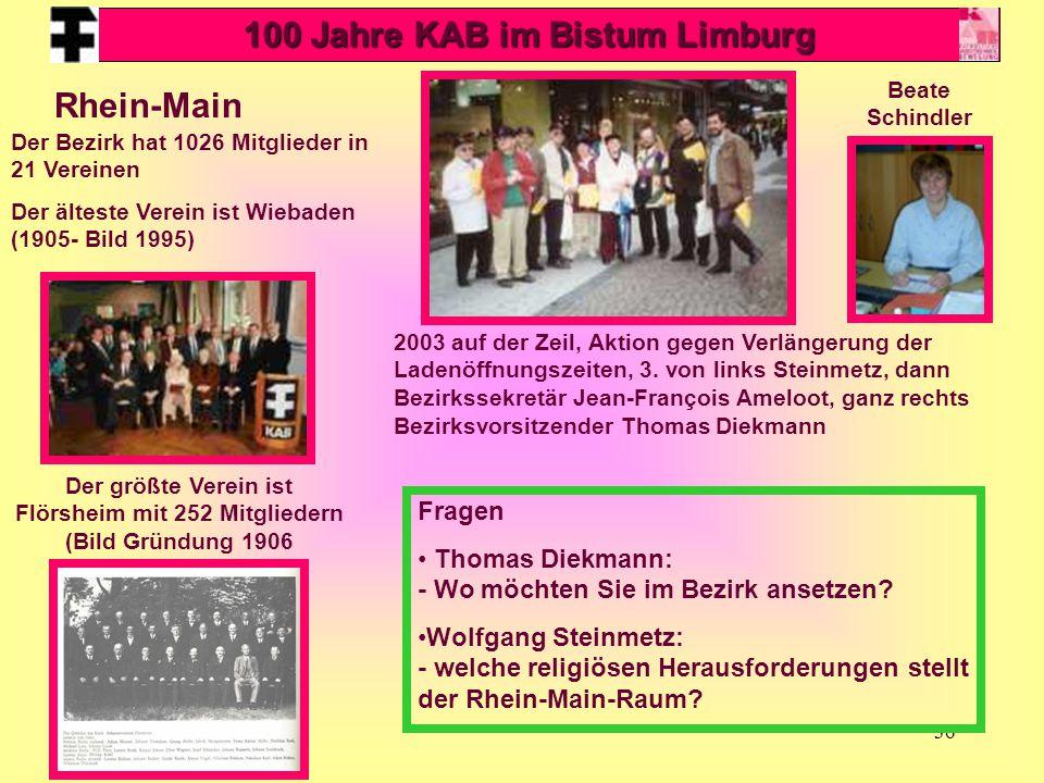 36 Rhein-Main 2003 auf der Zeil, Aktion gegen Verlängerung der Ladenöffnungszeiten, 3. von links Steinmetz, dann Bezirkssekretär Jean-François Ameloot