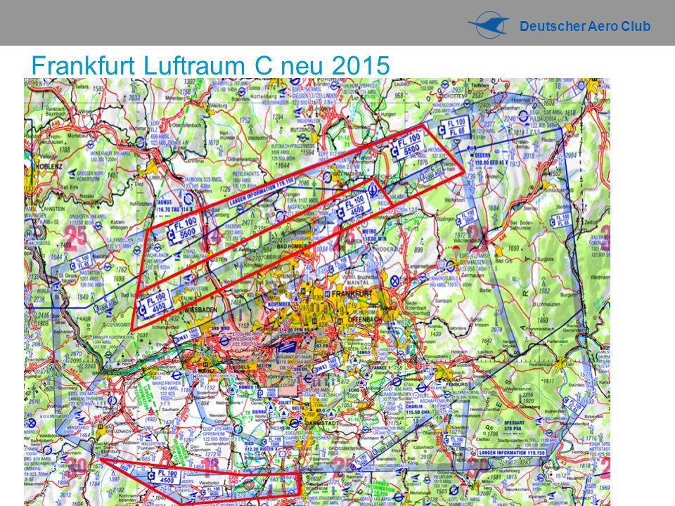 Deutscher Aero Club Frankfurt Luftraum C neu 2015