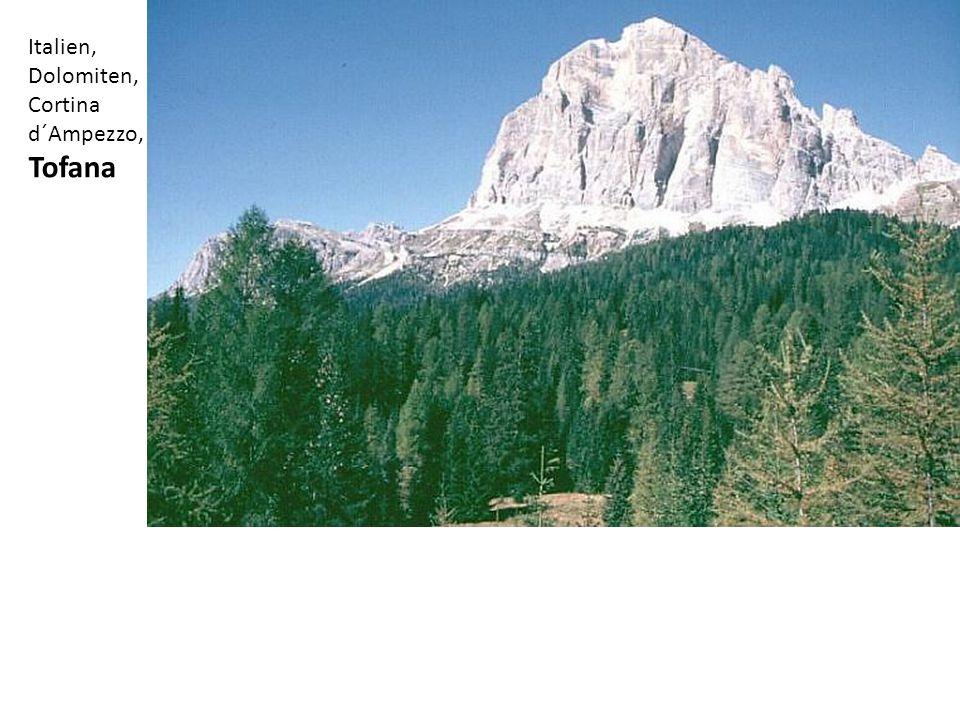 Italien, Dolomiten, Cortina d´Ampezzo, Tofana